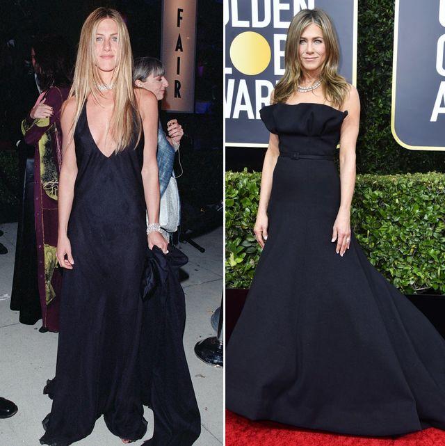 珍妮佛安妮斯頓登2020艾美獎又穿「制服」20年來都穿小黑裙 姐就是不膩!