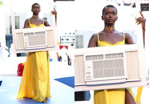 pyer moss couture  runway  paris fashion week  haute couture fallwinter 20212022