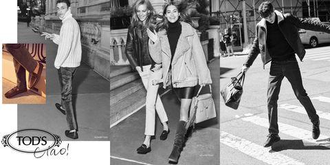 Photograph, Black-and-white, Street fashion, Snapshot, Fashion, Standing, Outerwear, Blazer, Footwear, Coat,