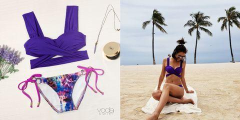 Clothing, Bikini, Swimwear, One-piece swimsuit, Monokini, Maillot, Summer, Vacation, Lingerie, Swimsuit bottom,