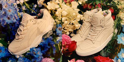 puma 最新聯名老爹鞋好浪漫~把春天悄悄藏進鞋底 新的一年穿上新鞋走花路吧!