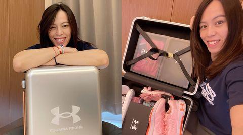 郭婞淳感性告白under amour 出征奧運的行李箱原來裝這些
