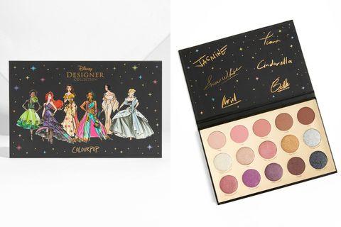 ColourPop,Disney迪士尼,聯名彩妝,眼影盤,眼影霜,唇膏唇蜜,打亮,小美人魚,白雪公主,beauty