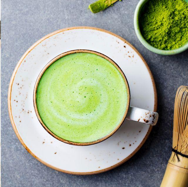 Food, Matcha, Dish, Green, Vegetable juice, Ingredient, Pea soup, Cuisine, Health shake, Drink,