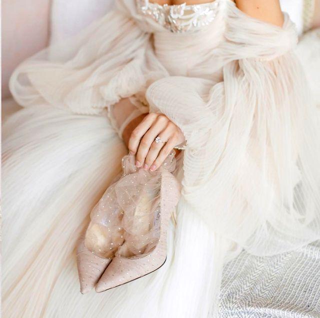 2020時髦婚鞋怎麼挑?水鑽高跟鞋、珍珠蕾絲涼鞋,4大分類婚鞋懶人包!