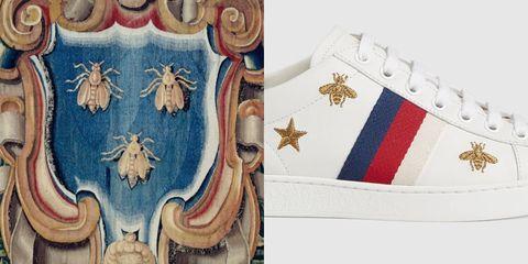 gucci球鞋上的小蜜蜂代表什麼?曾與guess為商標大打官司?4件gucci設計背後的精彩故事!