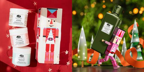 Carmine, Fictional character, Bottle, Christmas, Packaging and labeling, Machine, Toy, Label,