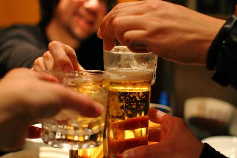 最高飲酒法,日本,熱量,喝酒,肥胖,宿醉,卡路里,減肥,beauty