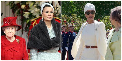 卡達王妃, 謝赫莫札, 中東, 王室, 高級訂製服