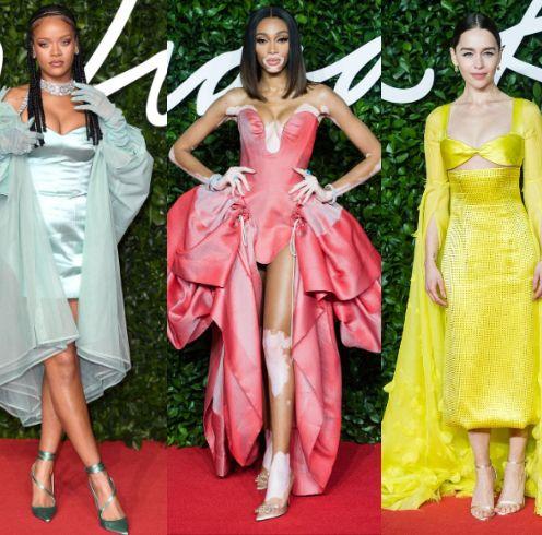 英国ファッション評議会が主催する「ザ・ファッション・アワード2019」の授賞式が現地時間12月2日、ロンドンで開催!  レッドカーペットには、女優やモデルなど、各界を代表するファッショニスタがドラマティックなドレスアップで降臨。リアーナ、カイア、ナオミ……おしゃれ番長たちの気合いスタイルを総覧。