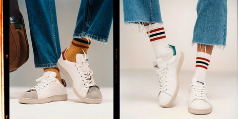 RE/DONE推出小白鞋
