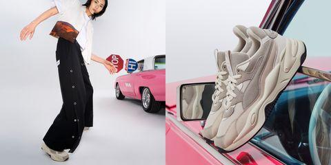 puma x liuwen 推出聯名老爹鞋
