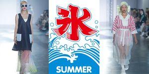 【臺北時裝週】「台式剉冰」也可以很時尚?看UUIN將甜蜜冰品化身時髦套裝!