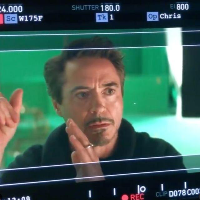 小勞勃道尼釋出《復仇者聯盟4》鋼鐵人刪減片段
