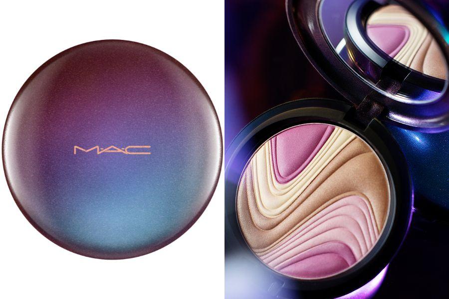 M.A.C,彩妝,刷具,金屬,秋冬妝容,修容打亮,復古,煙燻,makeup,beauty