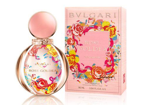 寶格麗,BVLGARI,微風南山,寶格麗快閃香氛專賣店,玫瑰金漾,淡香精,beauty