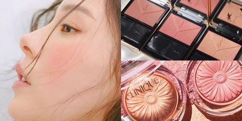 Face, Skin, Eyebrow, Cheek, Eye, Eye shadow, Pink, Head, Face powder, Beauty,