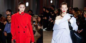 【紐約時裝週】PROENZA SCHOULER 2020秋冬大衣就是不穿好!更找來Gigi Hadid 示範西裝時髦新穿法