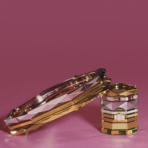 gucci推出中性珠寶「link to love」戒指不單是時尚對戒,日常疊戴更時髦!