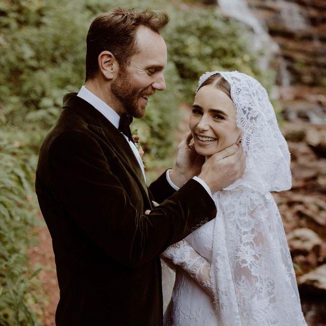莉莉科林斯結婚