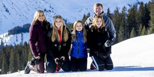 Fotosessie Koninklijke familie in Lech