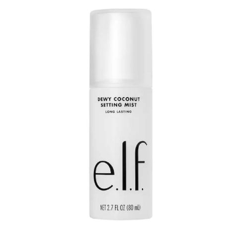 dewy coconut   setting mist   gezichtsspray   elf cosmetics   fixing spray