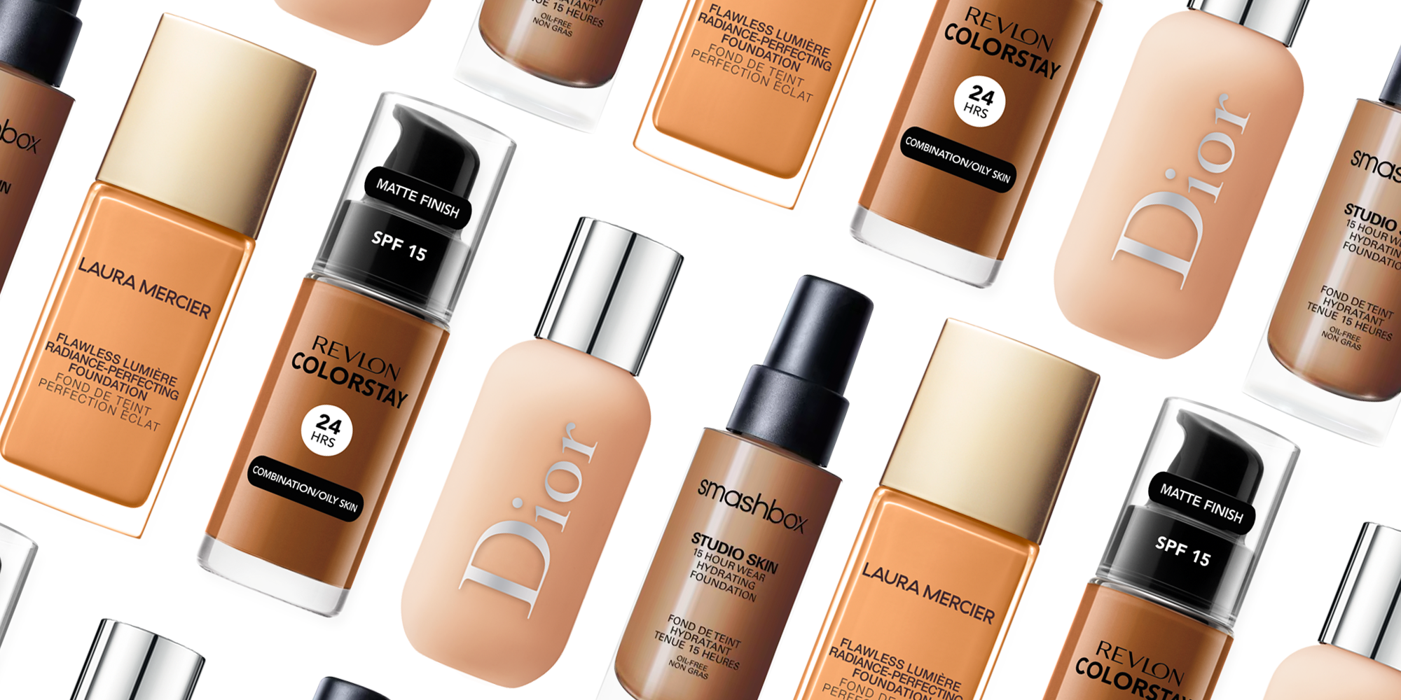 14 Best Foundations For Oily Skin Good Oily Skin Foundations