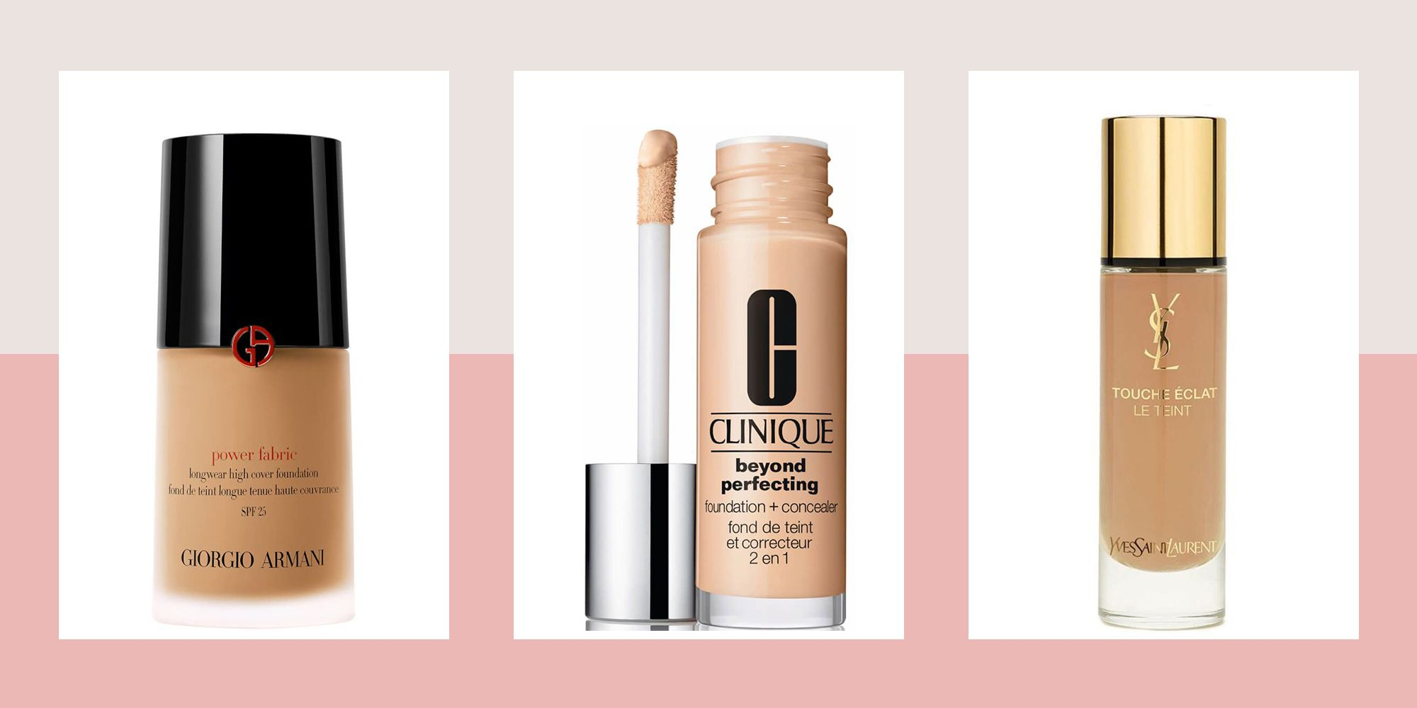 All of our favourite foundation and concealer duos for flawless skin