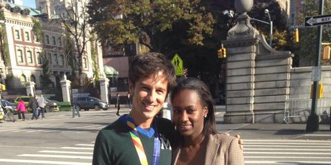 Man Finds Ring After 2014 NYC Marathon