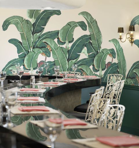 cw stockwell's martinique wallpaper at the beverly hills hotel