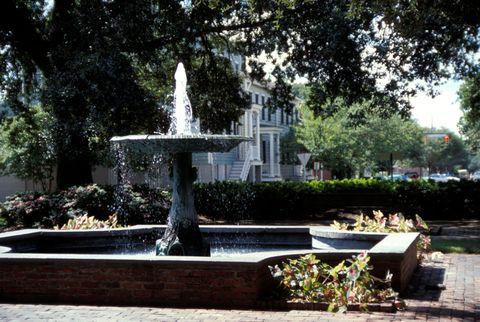 fountain in columbia