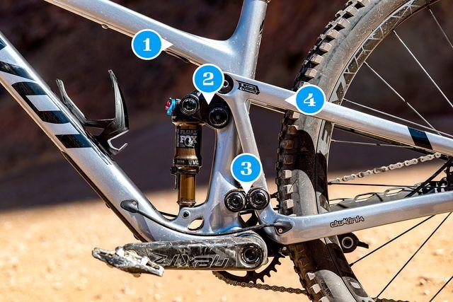 four bar suspension