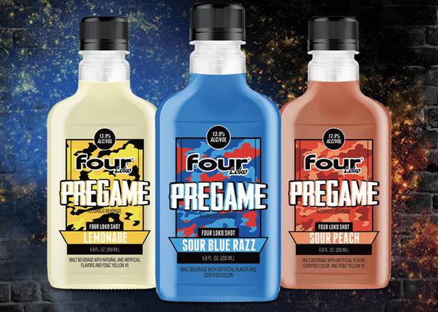 four loko pregame shots
