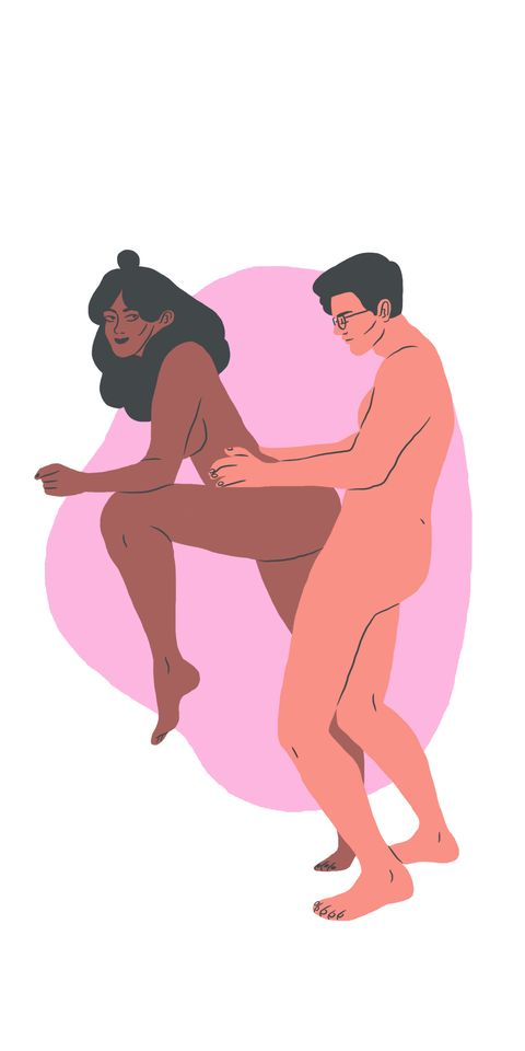 Leg, Human leg, Pink, Elbow, Interaction, Muscle, Knee, Thigh, Abdomen, Animation,