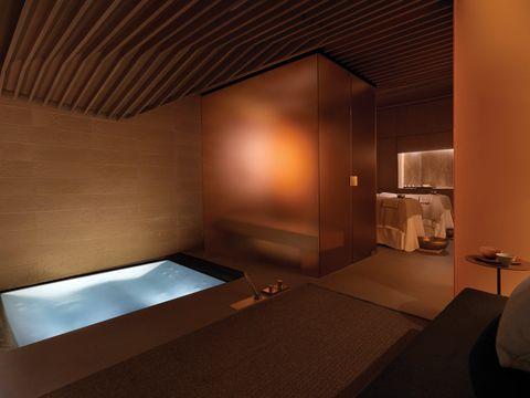 Room, Interior design, Property, Architecture, Ceiling, Building, Suite, House, Furniture, Boutique hotel,