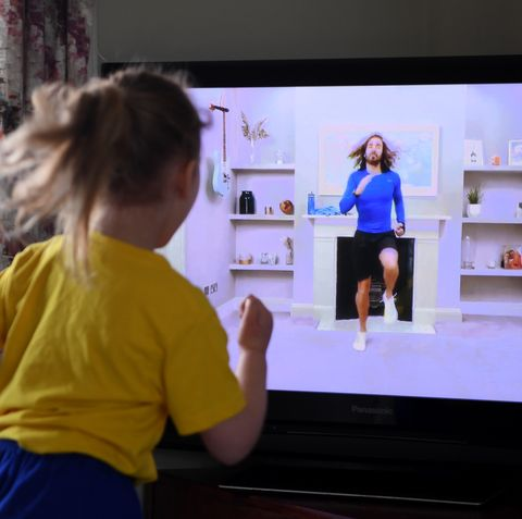 Joe Wicks shares an adorable letter from a young fan
