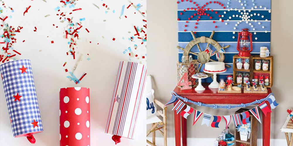 30 Easy 4th of July Crafts and Decorations