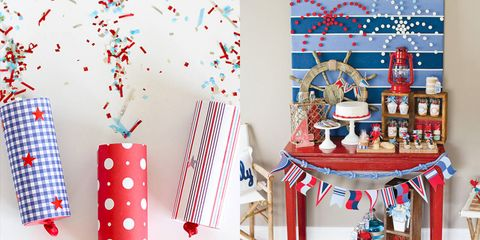 23 Easy 4th Of July Crafts Patriotic Fourth Of July Diy Ideas