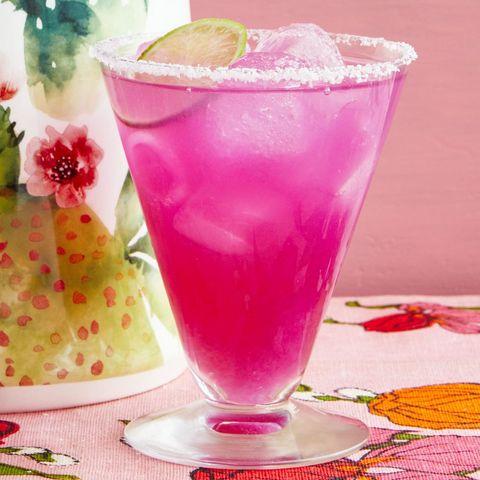 prickly pear margaritas hot pink