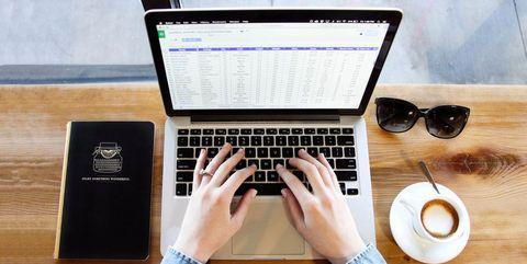 Product, Computer keyboard, Eyewear, Technology, Electronic device, Glasses, Laptop, Input device, Gadget, Hand,