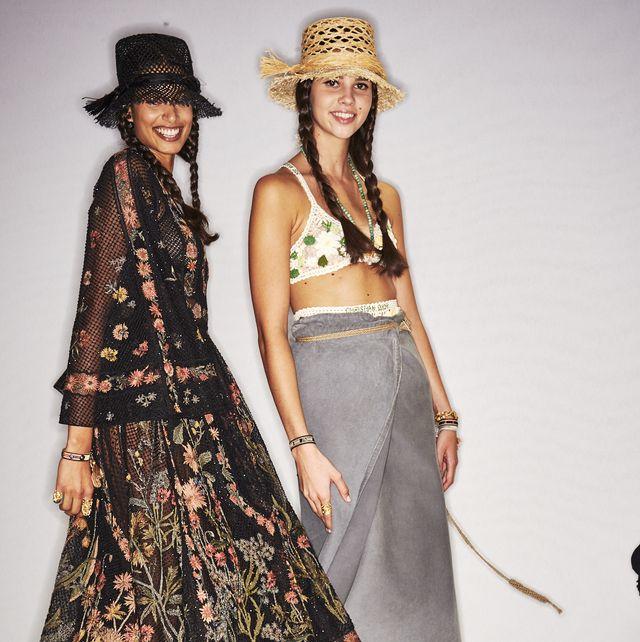 Clothing, Fashion, Fashion model, Dress, Fashion design, Outerwear, Costume design, Fashion show, Day dress, Headgear,