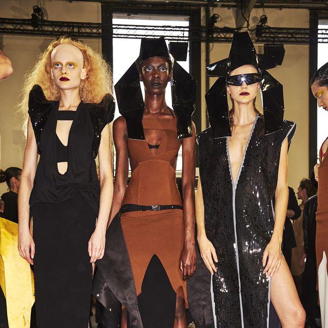 Clothing, Fashion, Costume, Dress, Event, Eyewear, Fashion design, Little black dress,