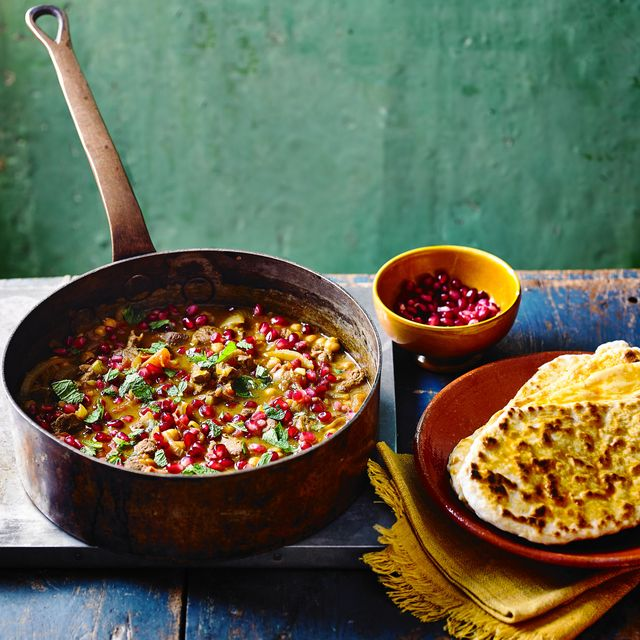 best lamb recipes fragrant lamb and chickpea stew with spiced flatbreads