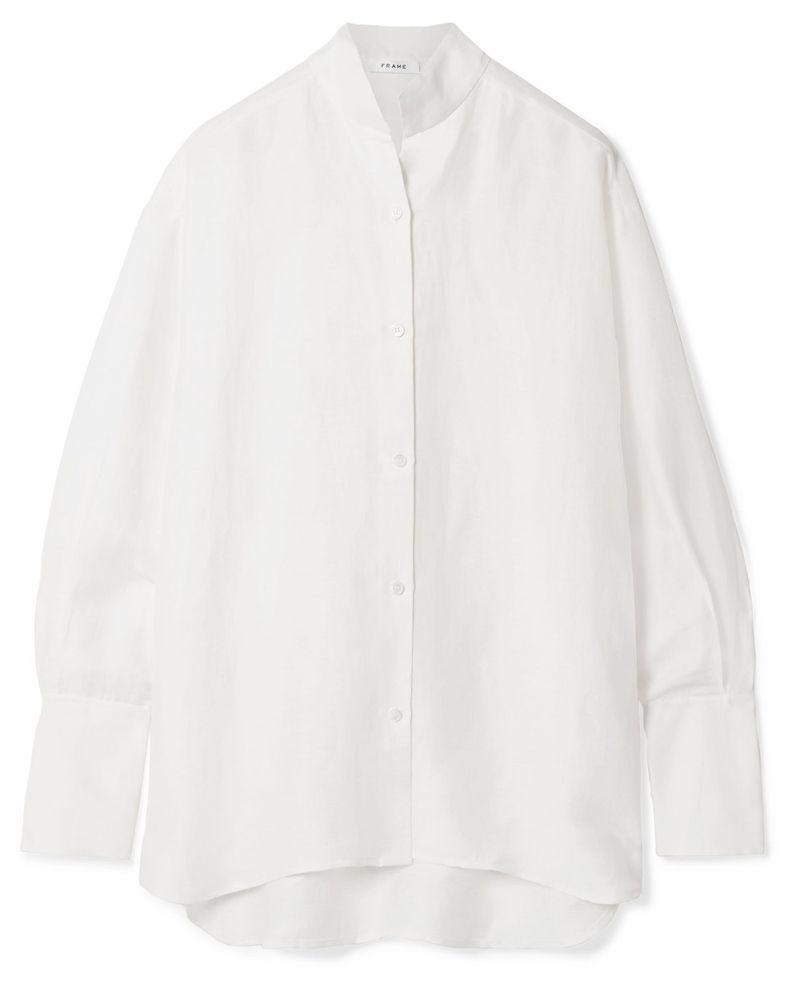 Frame shirt meghan markle