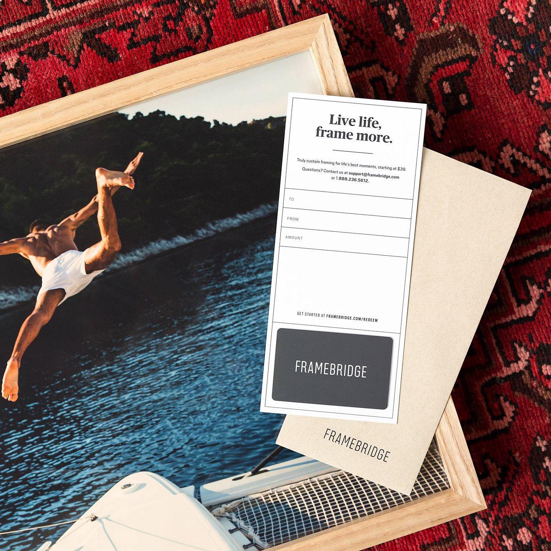 Framebridge Gift Card