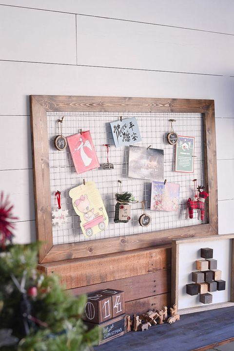 Image Courtesy Of Framed En Wire Christmas Card Display