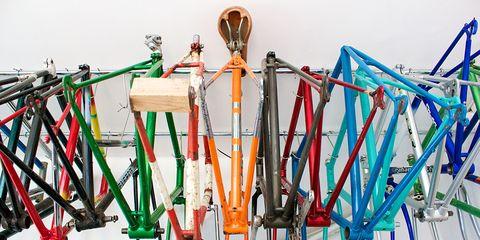 Bicycle frames.
