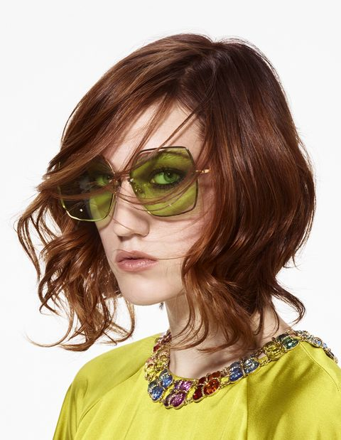 Eyewear, Hair, Glasses, Face, Hairstyle, Sunglasses, Cool, Brown hair, Hair coloring, Vision care,