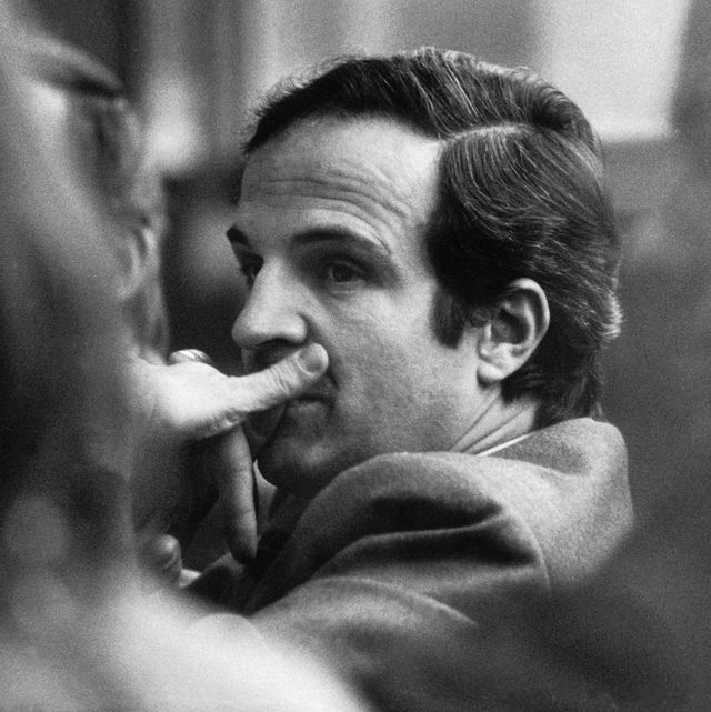 stockholm, sweden   november 17 the french film director francois truffaut attending the swedish premiere of his film the wild child on november 17, 1970 in stockholm, sweden photo by keystone francegamma rapho via getty images