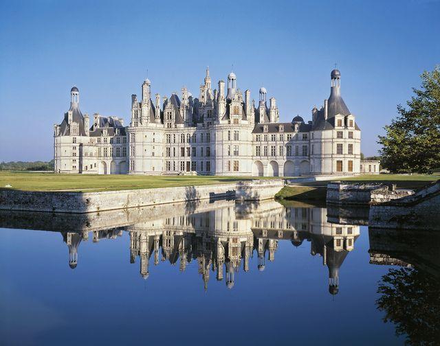 france, centre, chambord castle chateau de chambord, renaissance style